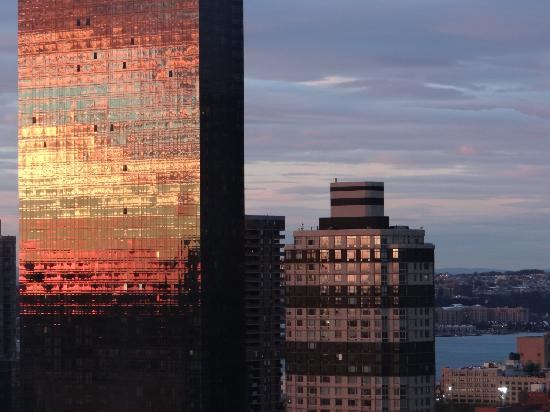 The New Yorker A Wyndham Hotel: sunset