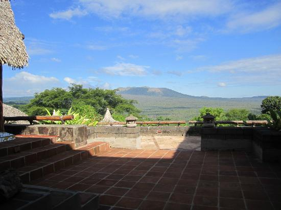 Hacienda Puerta Del Cielo Eco Spa: View of the volcano