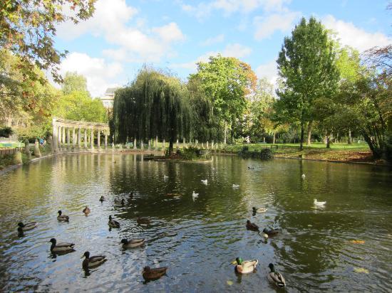 Πάρκο Monceau: pond