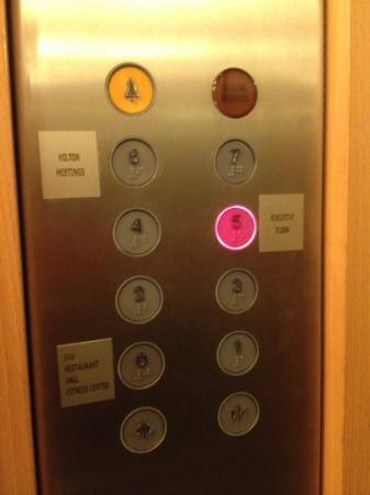 Hilton Rome Airport Hotel: Executive floor - 5th floor