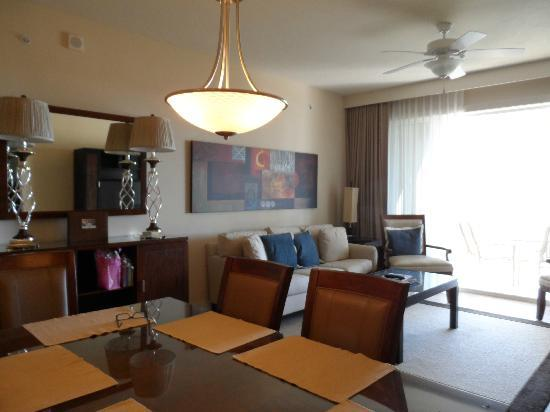 The Westin Cape Coral Resort At Marina Village: One bedroom unit. Living dining room.