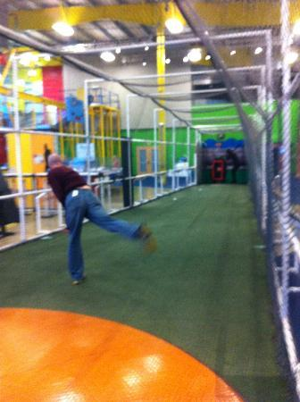 Carnegie Science Center: Highmarks Sport Centre Pitching Cage