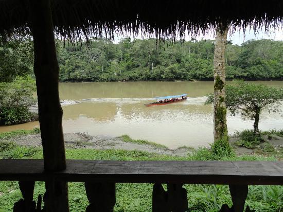 Cotococha Amazon Lodge: vue de la chambre sur le Rio Napo