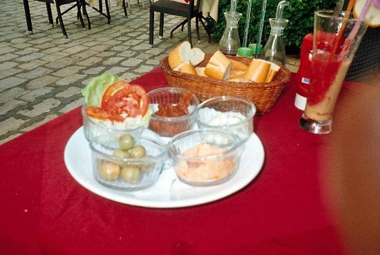 La Nafoura : starters