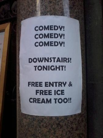 The Comedy Crunch: High quality advertisement