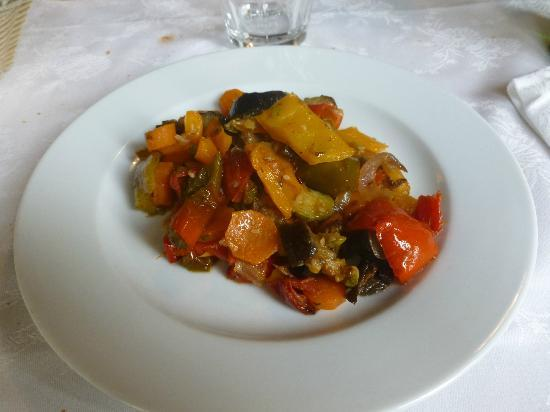 Osteria Le Panzanelle: Verdure grigliate