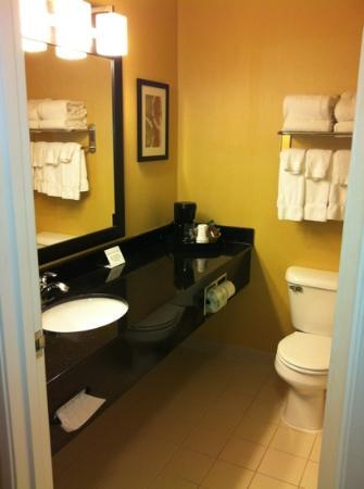 Comfort Suites Saginaw: very clean