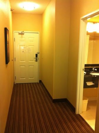 Comfort Suites Saginaw: safe & quiet