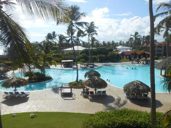 Punta Cana Princess All Suites Resort & Spa: Pool from our room