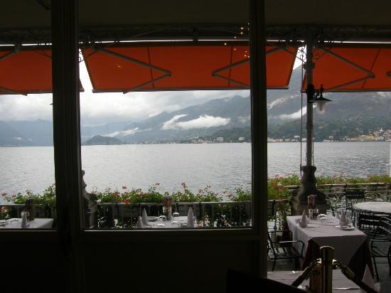 Breakfast views of Lago Como from Ristorante Hotel Metropole ...
