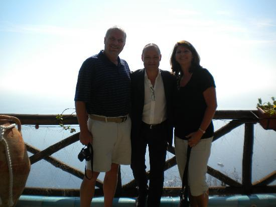 At La Tagalita with Carlo