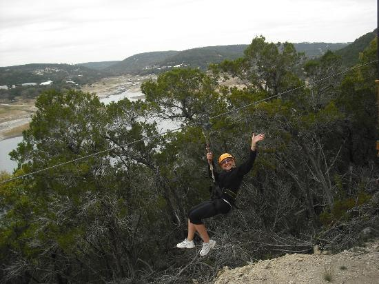 Lake Travis Zipline Adventures: Look, ma, I'm ziplining!