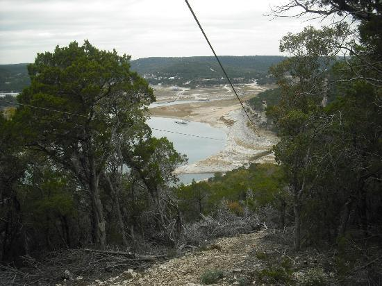 Lake Travis Zipline Adventures: A line with a view . . .