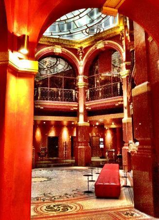 Hotel Banke: Lobby of the Hotel Banke 