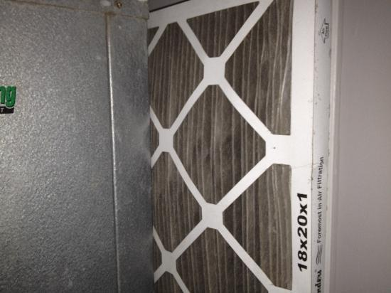 Sanctuary South Beach: Maybe the AC would have worked better if they changed their air filters regularly.