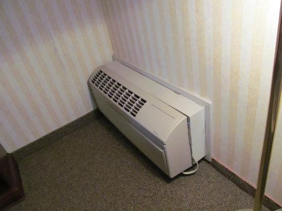 Red Roof Inn TownHouse - Grand Forks: Air Conditioner
