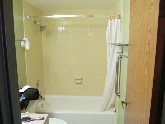 Red Roof Inn TownHouse - Grand Forks: Bathroom Shower