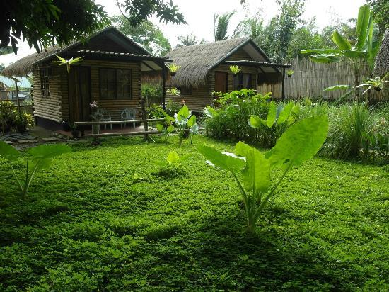 Subli Guest Cabins: garden and cabin