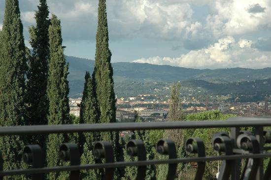 Villa Belvedere - Florence: View from the balcony of Florence