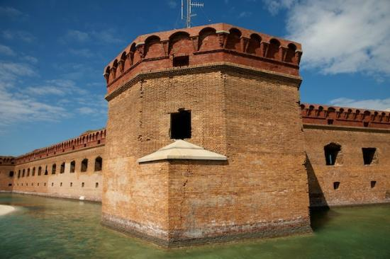 Fort Jefferson: Corner View, Outside the Forty