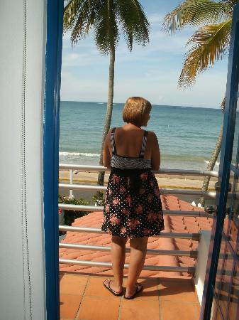 Tres Palmas Inn: Vista desde el suite