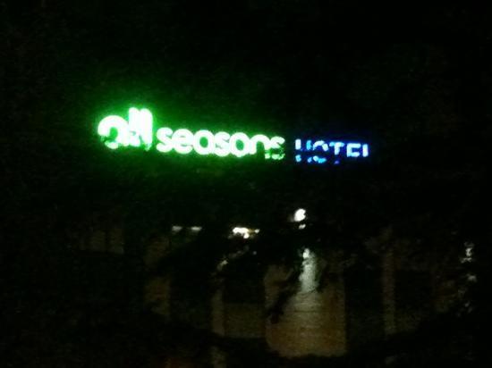 Mercure Venezia Marghera hotel: Letreiro
