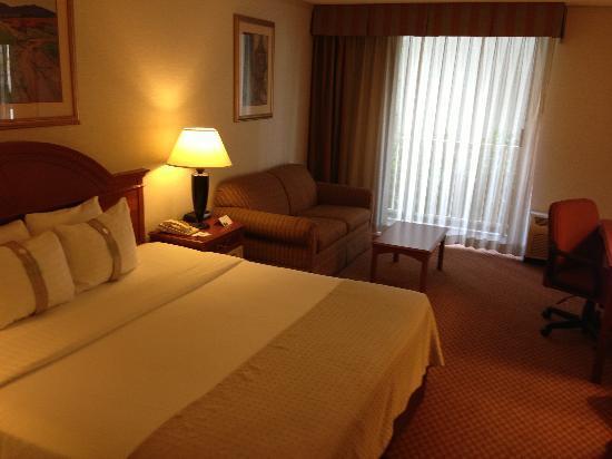 Holiday Inn Civic Center (San Francisco): 一人だったのでキングサイズのベッド独り占め!