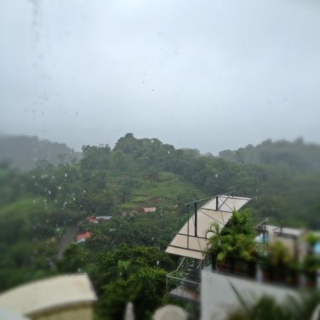 Gaia Hotel & Reserve : rainy day @ Gaia