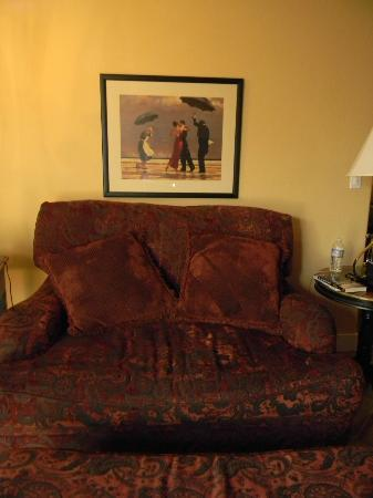 Su Nido Inn (Your Nest In Ojai): comfy loveseat