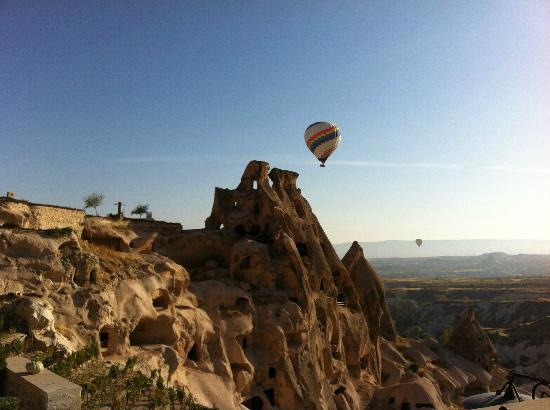 Argos In Cappadocia: The view from the breakfast terrace