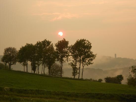 Gemuender Ferienpark Salzberg : Another beautiful view of sun setting