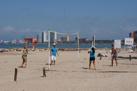 Buenaventura Grand Hotel & Great Moments All Inclusive: Beach Volleyball