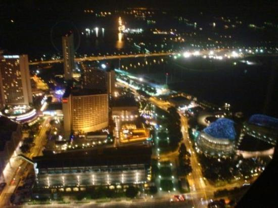 Swissotel The Stamford Singapore: the view from the 70th floor