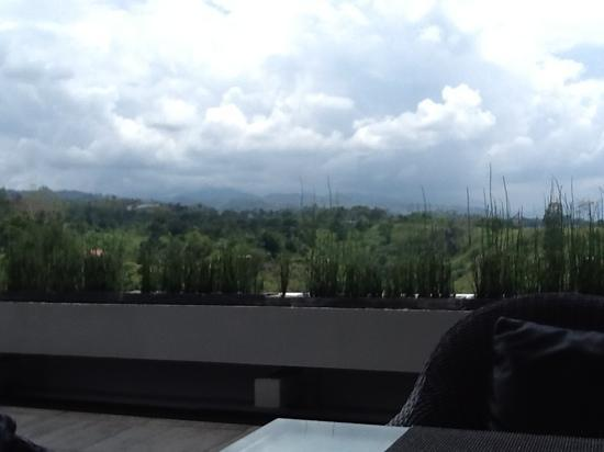 Padma Hotel Bandung: View from restaurant of Padma Hotel