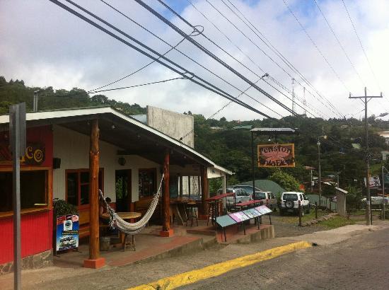 Pension Santa Elena: street view