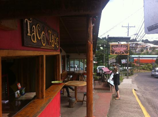 Pension Santa Elena: taco taco