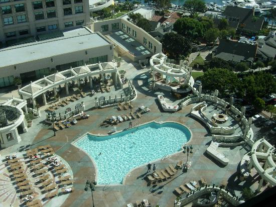 Manchester Grand Hyatt San Diego: View from my room