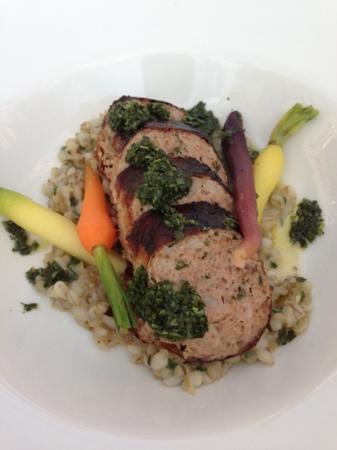 Pulp Kitchen: duck neck sausage 2012 spring menu