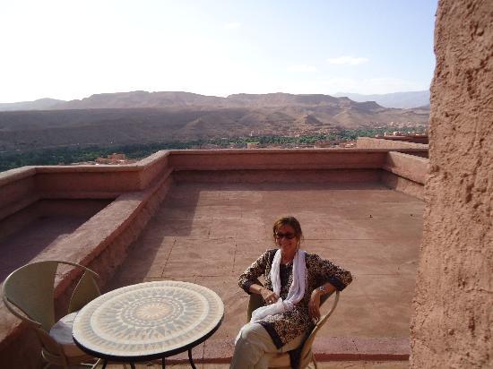 Hotel Xaluca Dades: terrazas