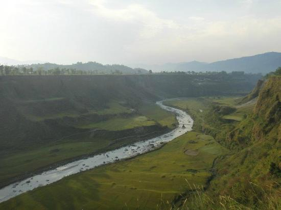 Himalayan Golf Course: From the Club house