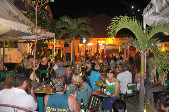 beer garden Casablanca dine drink dance