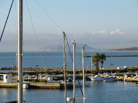 Club Maritimo de Sotogrande: The Rock, viewed from the hotel