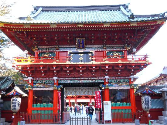 Chiyoda, Japonia: 山門