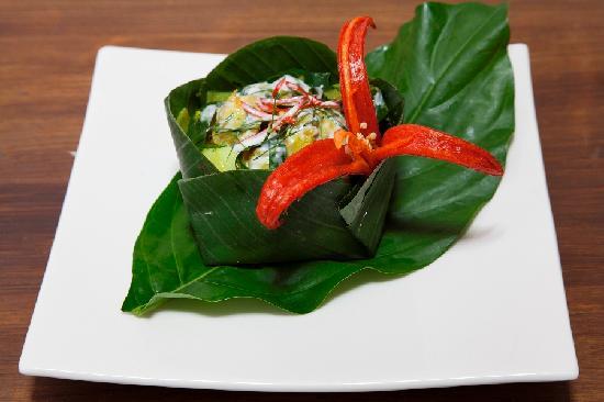 Khmer Cuisine : Amok Fish