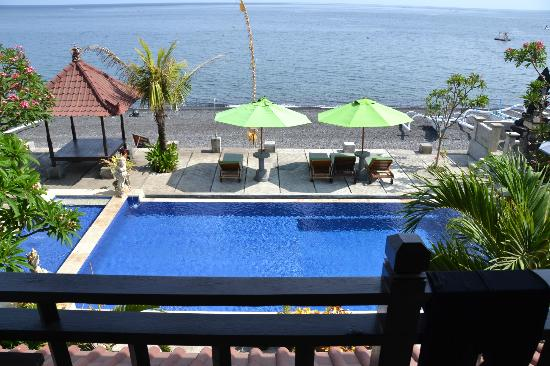 Amed Beach Resort: a room with a view