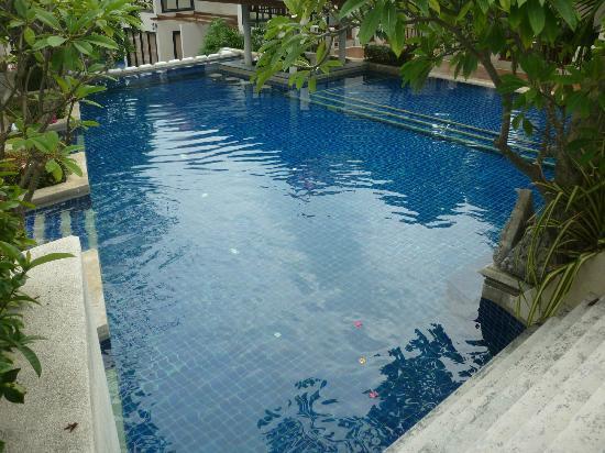 เดอะ บริซา บีช รีสอร์ท : Pool outside villa