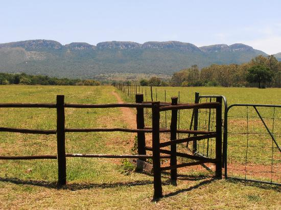 Quiet Mountain Country House: View of the Magaliesburg