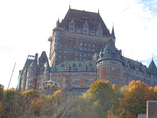 Hotel du Vieux-Quebec: Chateau Frontenac
