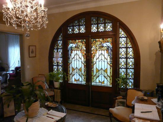 Le Castel Guesthouse: Impressie van de Art-decostijl / Ipmression of the Art-decostile