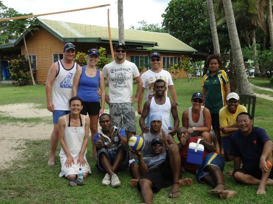 Nukubati Private Island: バレーボール